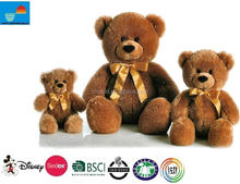 beautiful plush toy/cute brown bear toy/cheap lovely teddy bear toy