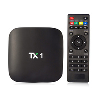 TX1 Android 4.4 Amlogic S805 1GB/8GB KODI android tv box with dvb-t receiver
