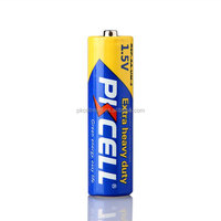 PKCELL Zinc Carbon AA 1.5v R6P UM3 Dry Battery for Toys,MP3