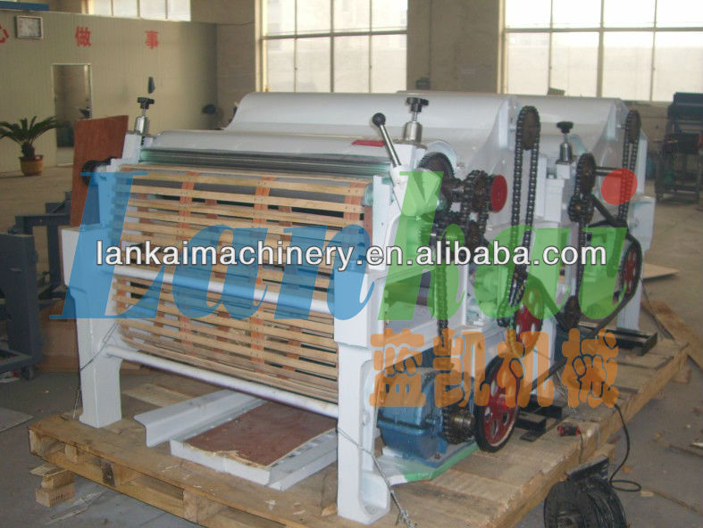 china new hot selling cotton opener machine/textile process machine/fiber opening machine