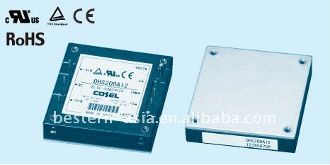 Cosel 200W 24V DC DC Module Power for Railway DHS200A24
