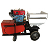 Diesel pump mortar spray plastering machine with best price