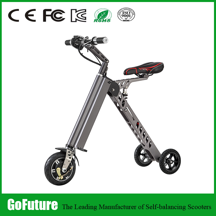 2017 3 three wheel foldable electrical folding bike motor 350W