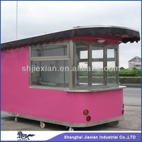 2015 Shanghai Newly design Fast fish and chips machine equipped crepe machine trailer