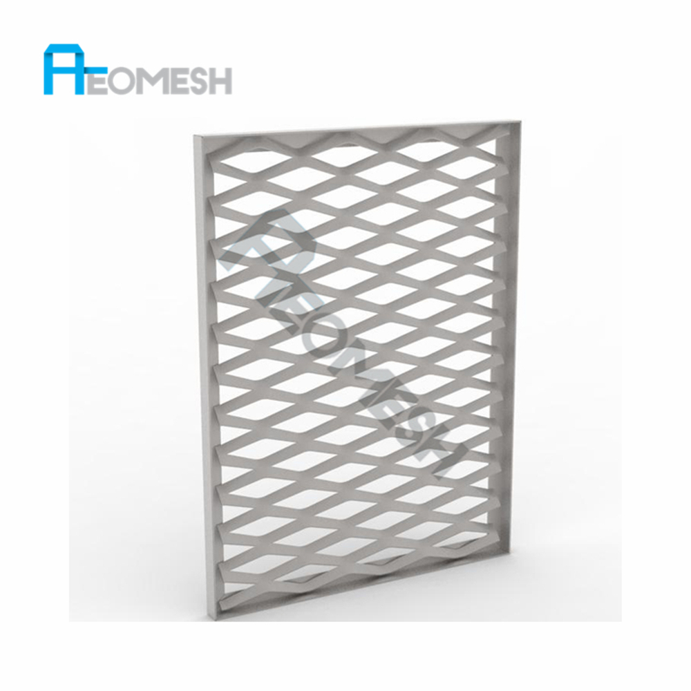 Facade Decoration New Product hexagonal wire mesh sheet/insulation aluminum sheet/iron bbq grill expanded metal mesh