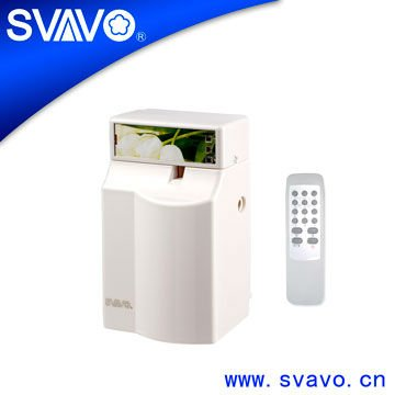 V-140-1R remote control automatic fan air freshener dispenser