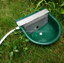 2015 half stainless steel and half plastic high quality automatic pet water feeder