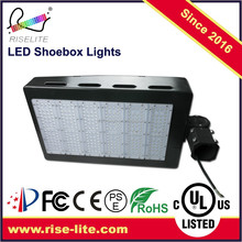 Pole mounted led street light shoebox retrofit for parking lot with 5 years warranty