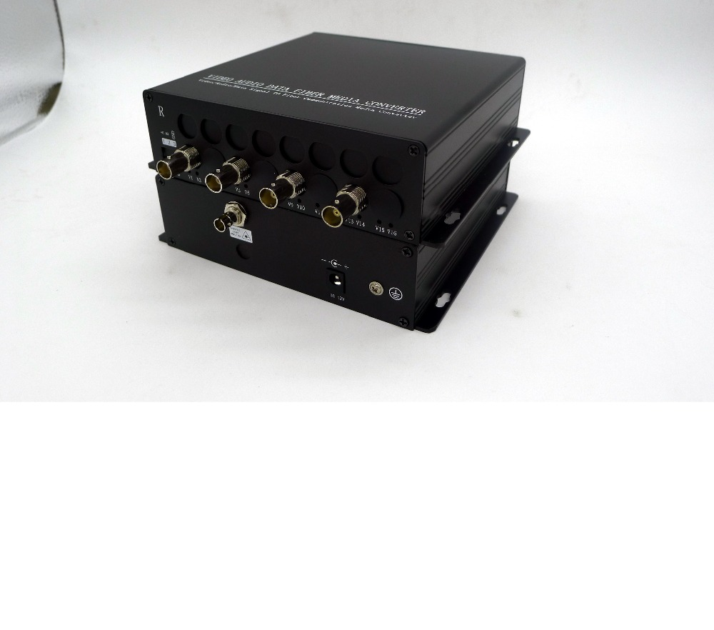 4ch Security HD-SDI TO Fiber Optic/CCTV 4 port HD-SDI fiber transceiver