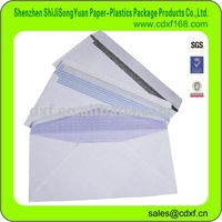 DL size Peel and Seal Self Adhesive paper envelope