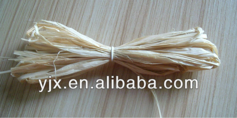 natural raffia straw/grass