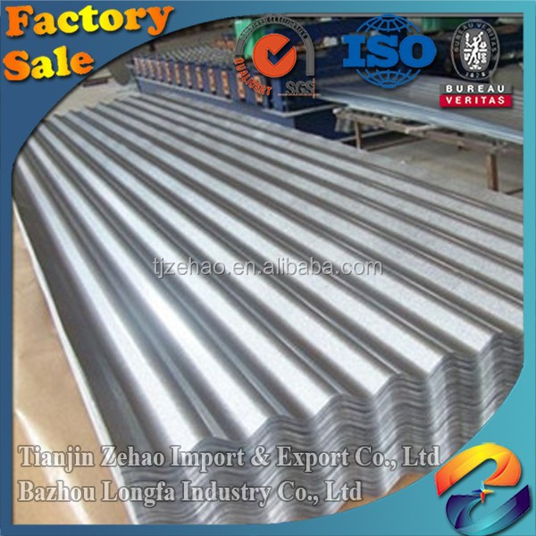 Factory direct sale New design 22 gauge Corrugated steel sheet