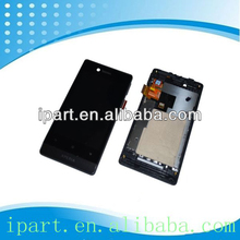 High Quality LCD Touch Screen Assembly For Sony Xperia Miro ST23i Lcd Complete