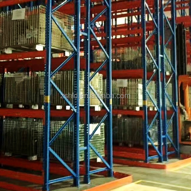 Multi-tier construction material powder coating Q235 steel post beam industrial Heavy duty durable storage <strong>shelf</strong>