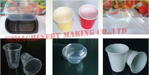 Full automatic plastic cup making machine price