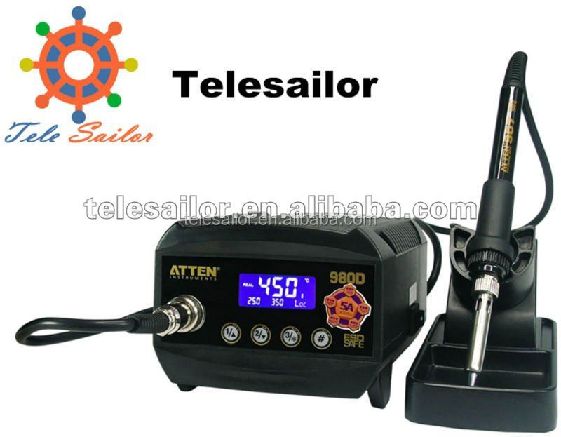 AT980D Digital Display Antistatic Lead-free Thermostatic Temperature Controlling Senior Soldering station
