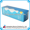 Full color flat folding box packaging