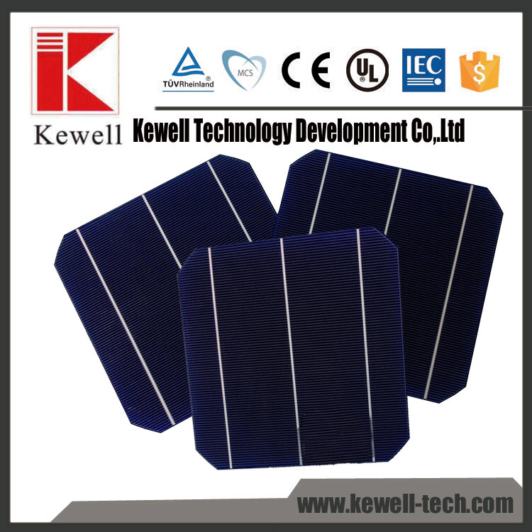 wholesale monocrystalline pv silicon solar cell price made in Taiwan