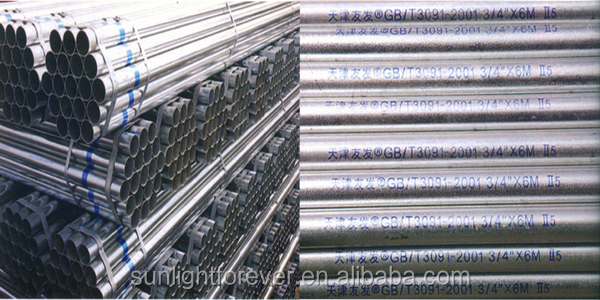 best scaffolding Galvanized Steel Pipe/ASTM A533/BS1387 galvaized pipe