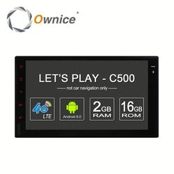 Ownice Android 6.0 Car stereo for nissan double din universal with GPS Navi Stereo WIFI built 4G lte DVD support TV