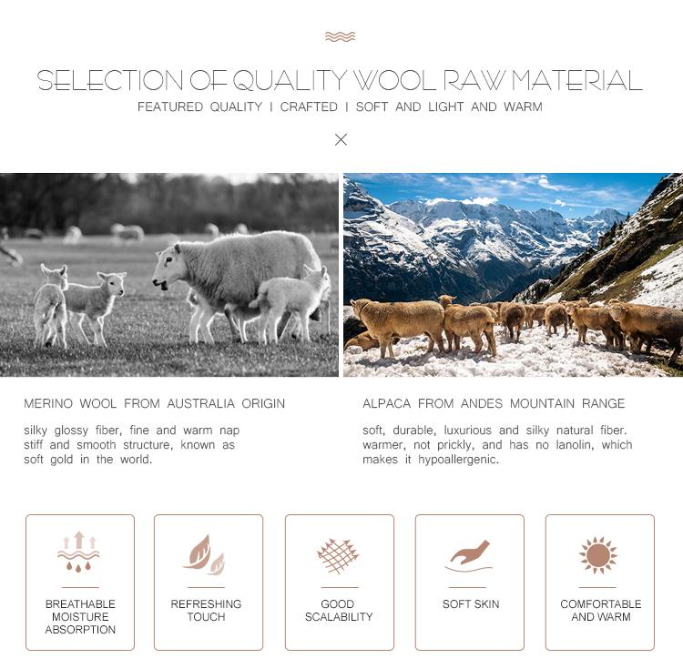2017 top 10 fournisseur berbère polaire laine de vigogne tissu