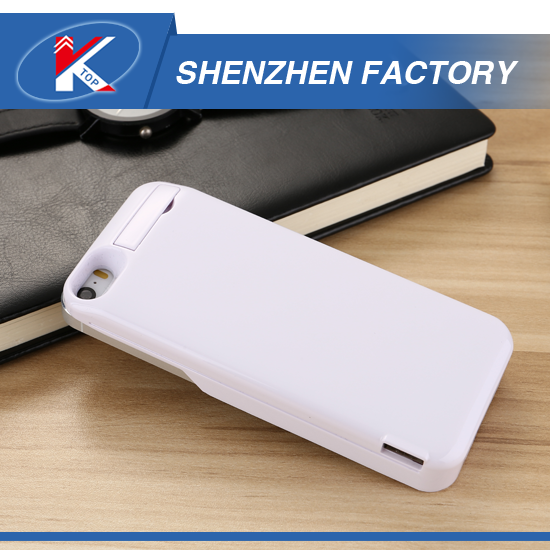Made in China Factory Fast Delivery Portable Battery Case for iPhone 5 SE