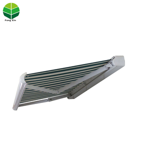 Fengxin Modern Design Remote Control Electric Outdoor retractable aluminum awnings/Retractable Sunshade awning price