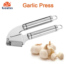amazon best sell stainless steel garlic press with silicone peeler