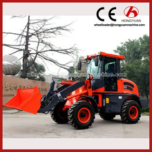 ZL15 mini wheel loader price articulated hydraulic telescopic forklift loader