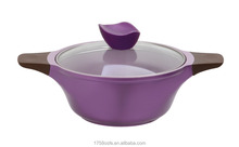 Kitchen cooking ceramic heat resistant ceramic casserole with stand