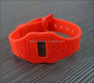 simple ultrathin attractive silicone watch