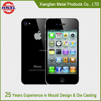 New Fashion Metal Phone Case for iPhone 6, aluminum die casting spare parts