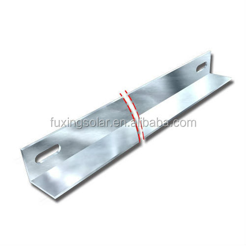 ST-GT-I Galvanized Carbon Steel Back Side Support for Terrace I in large scale solar PV Solution