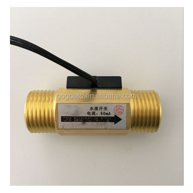 1/2'' thermal water air flow sensor switch customized