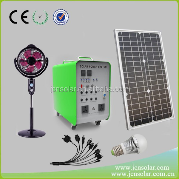 movable 100w 300w 500w 1000w solar home panel system supplier from Shenzhen