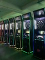 Arcade electric cash operated dart machine with HD camera