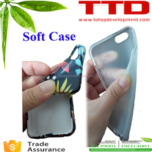 "TPU sPhone case for 5.5"" Iphone 6 plus , rubber TPU 3d sublimation phone case"