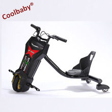Coolbaby 3 wheels Powered Unicycle Smart Drifting Self Balance Electric Scooter