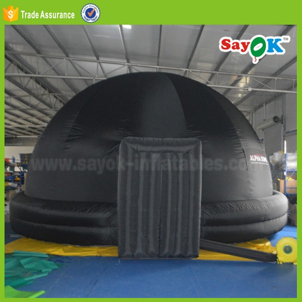 360 degree fulldome geodesic dome tent outdoor inflatable planetarium dome projection cinema tent