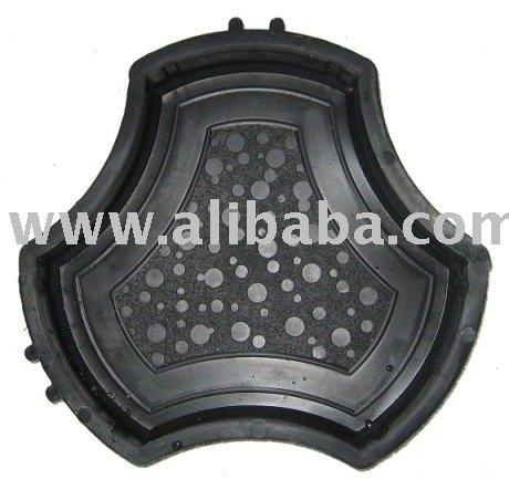 Moldes de pl stico para la fabricaci n de adoquines de for Moldes para adoquines