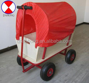 garden wooden tool cart TC1812M for children.good quality, carton package