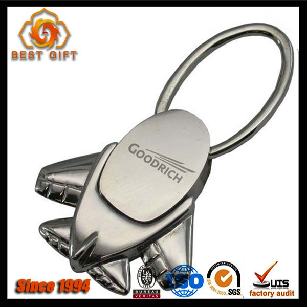 Manufacturers in China keychain with custom shaped metal
