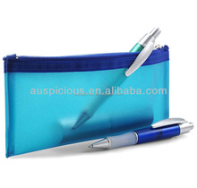 wholesale transparent soft clear plastic pvc pencil case for school students