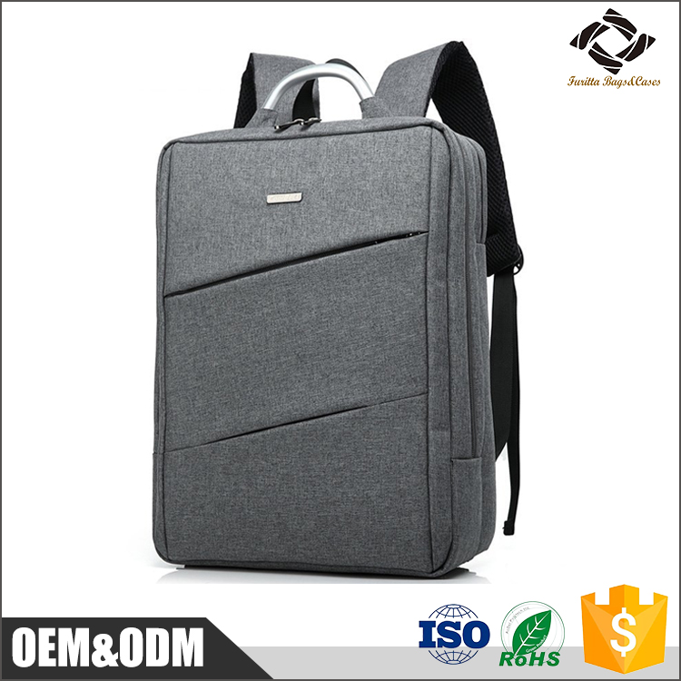 New fashion style multi functional 15inch waterproof nylon computer travel backpack laptop bags