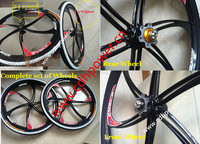 Beautiful High quality gas powered bike wheel for adult bicycle