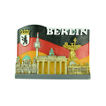 BERLIN polyresin country souvenir Fridge Magnets