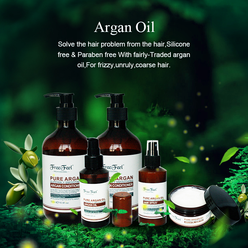 Professional private label hair care products cosmetic argan oil hair mask 200ml