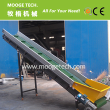 waste dirty plastic pe ldpe film recycling machine