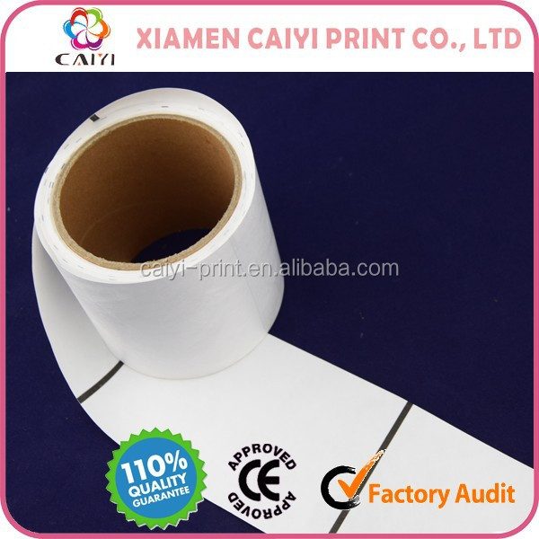 TYVEK Printing Label With Perforation, Thermal Transfer Printing Available