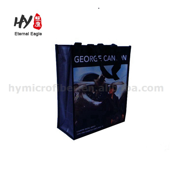 Retractable handle bean packing soccer ball nonwoven bag